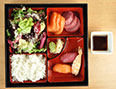 sashimi and sushi bento set